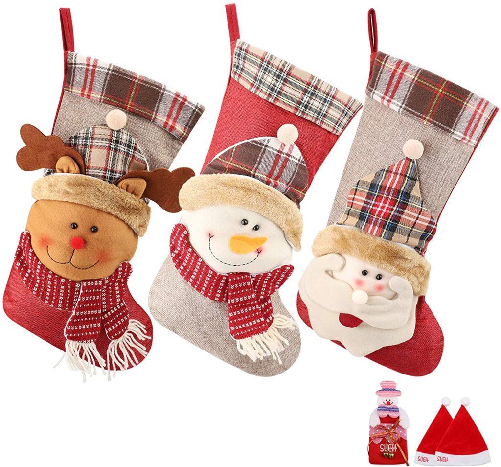 weihnachtsstrümpfe-santa-schneemann-rudolph-2